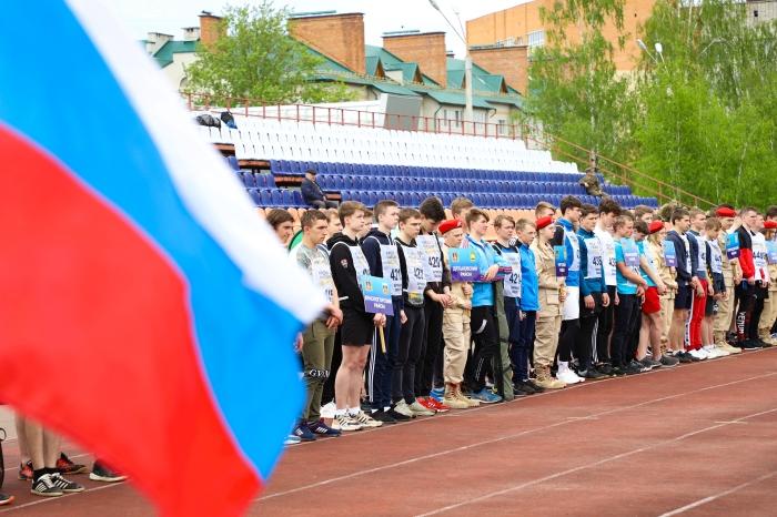 В Клинцах проходит областная спартакиады допризывной молодёжи, посвящённой подвигу воинов 6-ой роты Псковской воздушно-десантной дивизии